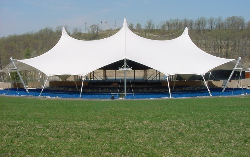 Tensile Fabric Canopy for outdoor events