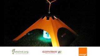 recharge tent orange image