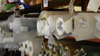 Rolls of architectural fabrics