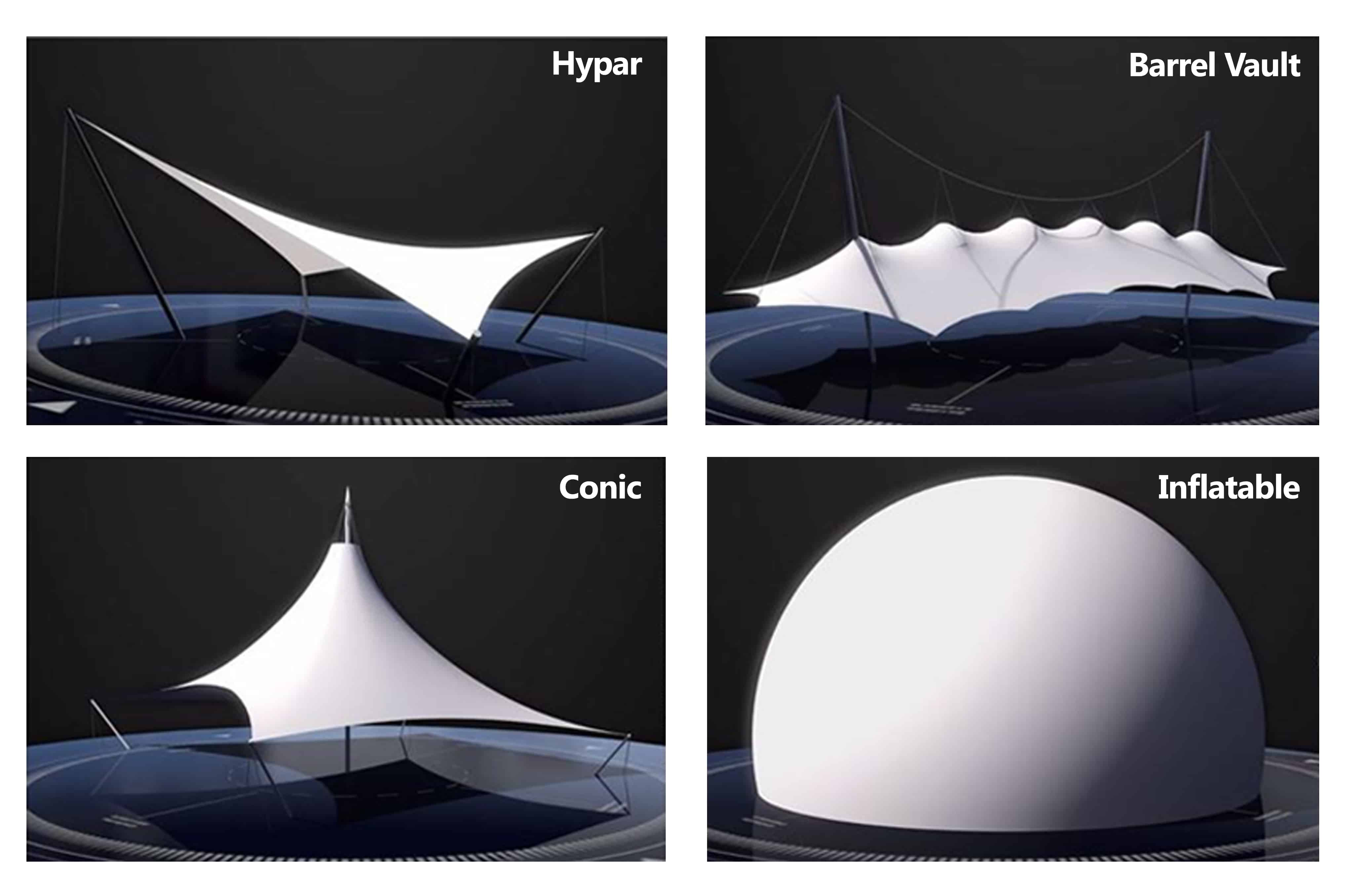 Basic Theories Of Tensile Fabric Architecture Architen