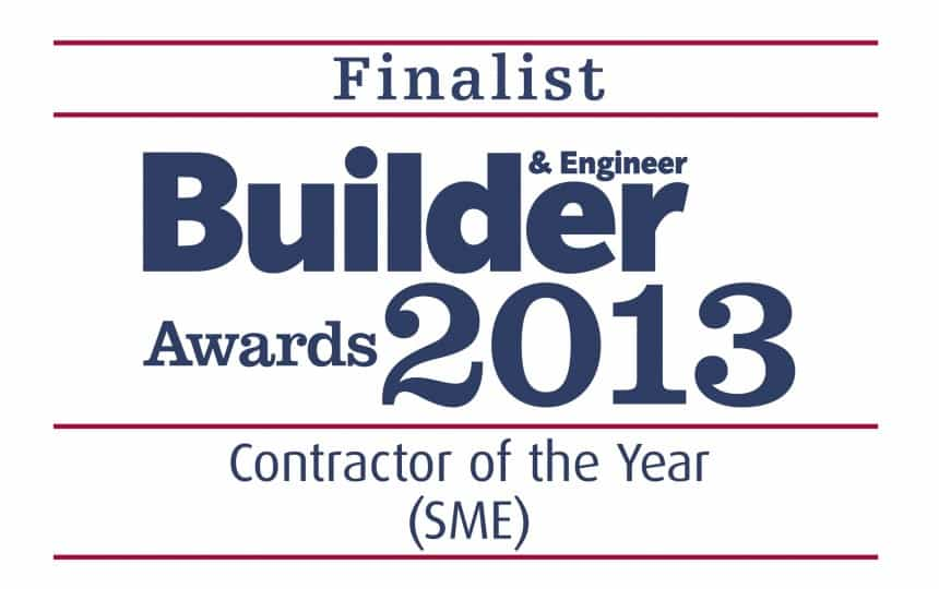 builder and engineer awards 2013