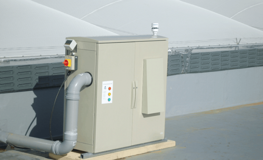 ETFE air handling unit and control system