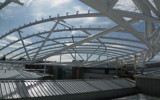 Support Structure for ETFE roof