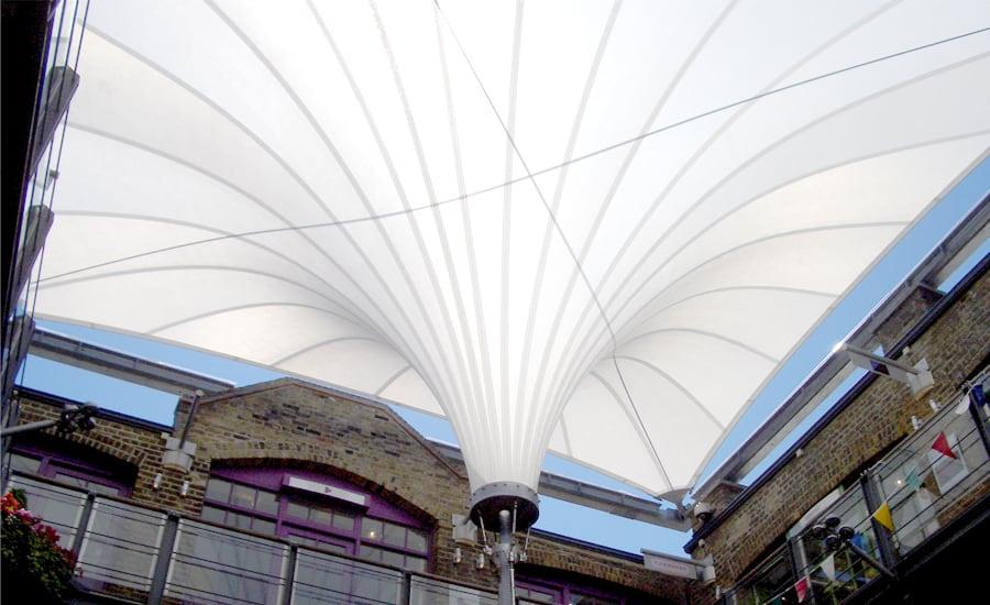 Demountable Tenara canopies