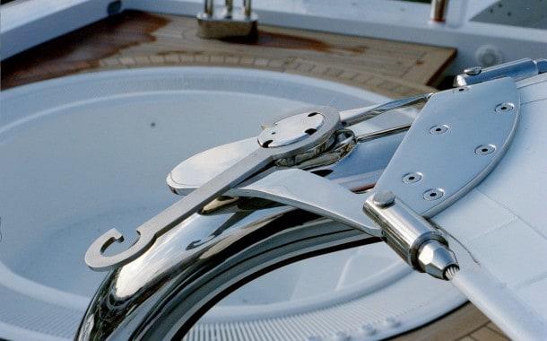 Membrane plate closeup