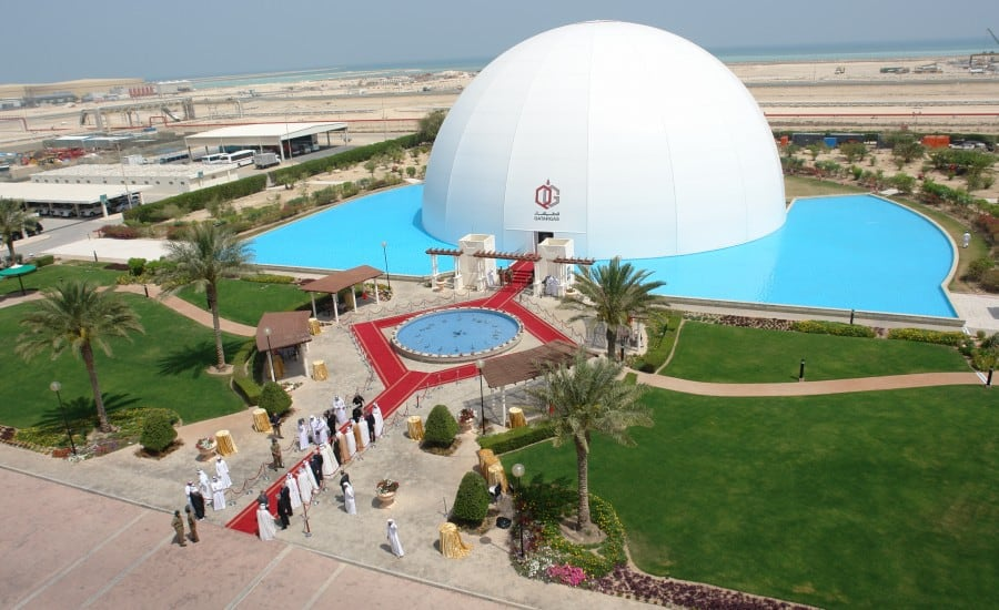 PVC polyester: Air filled structure event space