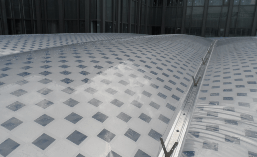 ETFE Intelligent Printing courtyard roof