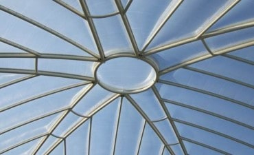 ETFE Foil cushion over school courtyard