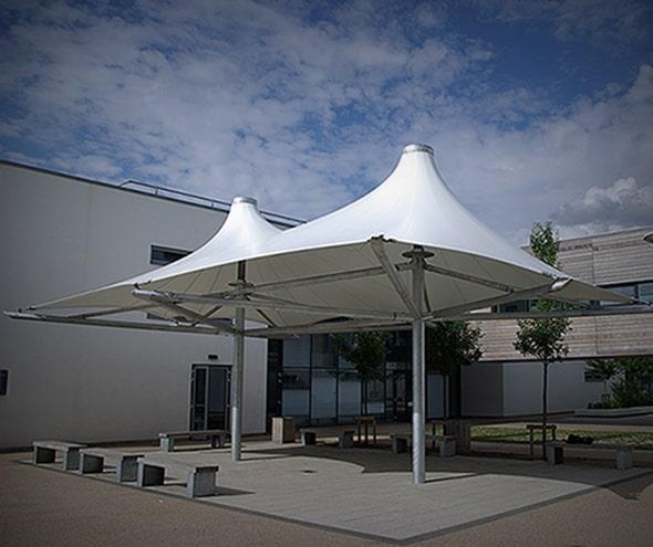 St Matthewu0027s Academy School Canopy & Home - Architen Landrell