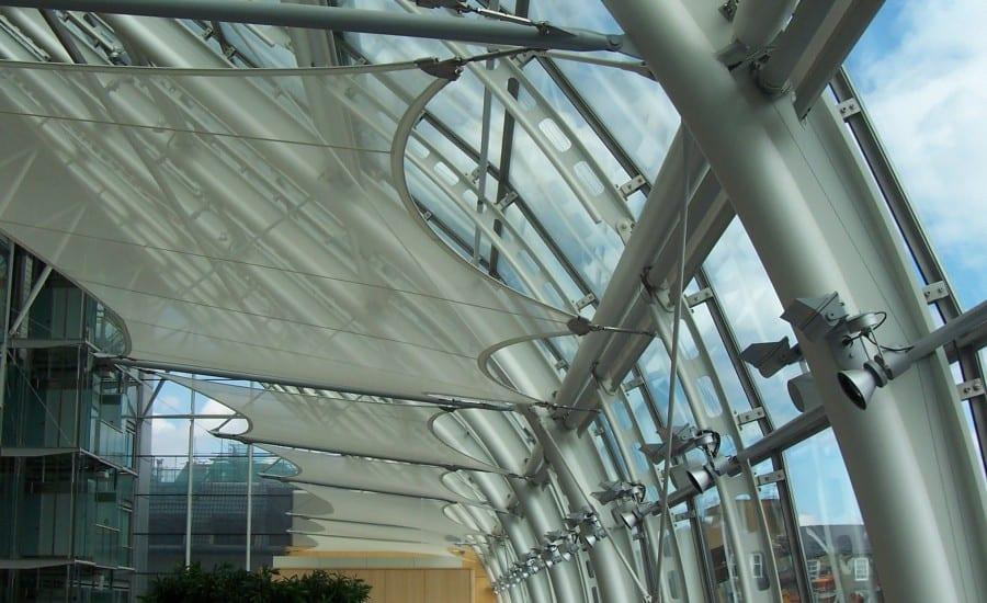 Fabric solar shade
