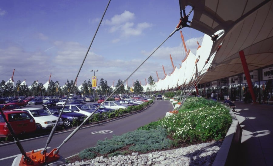 PVC fabric roof