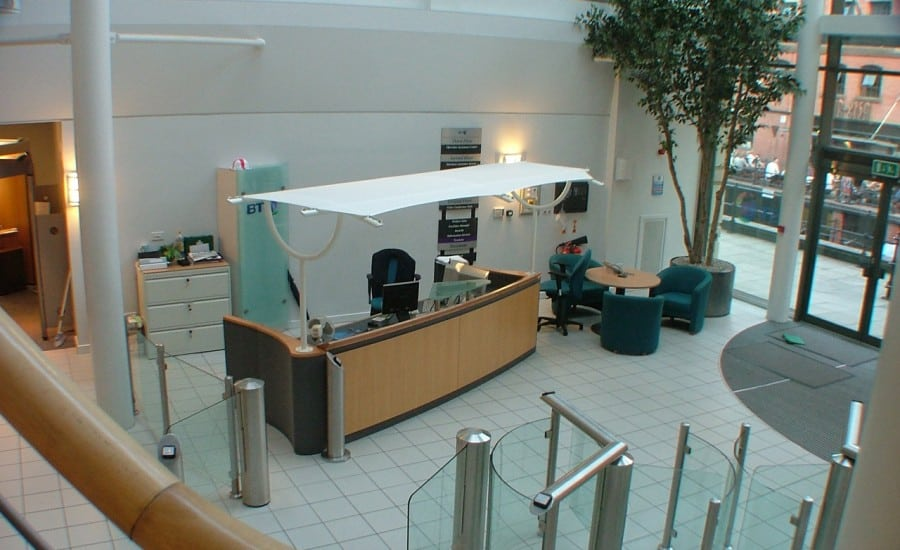 Reception canopy