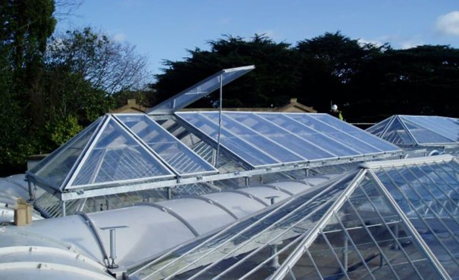 ETFE roofing system