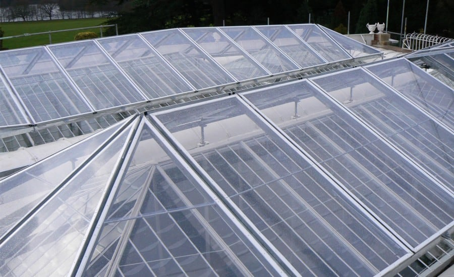 Clear natural ETFE solution