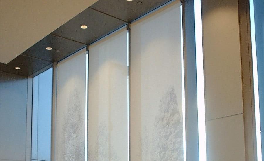 PVC glass mesh printed fabric screens