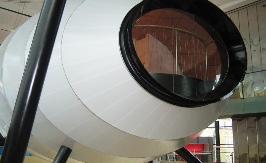 Sculptural fabric internal structure