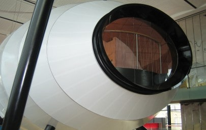 Acoustic membrane pod