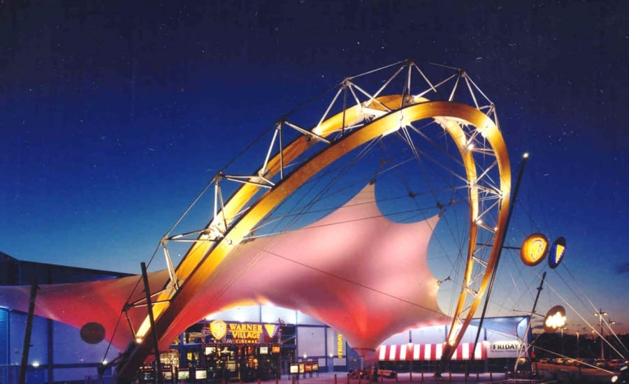 Architectural Lighting of Fabric Structure
