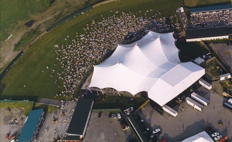 Large Fabric structure in America