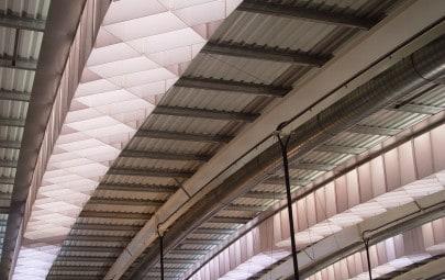 Fabric skylight diffusers