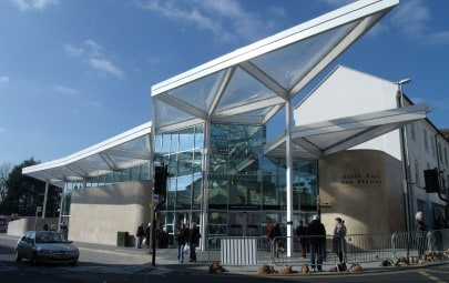 ETFE Foil roof over bus interchange