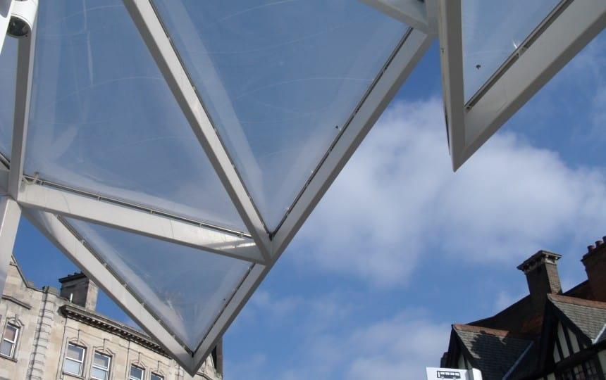 Architectural ETFE Foil cushions