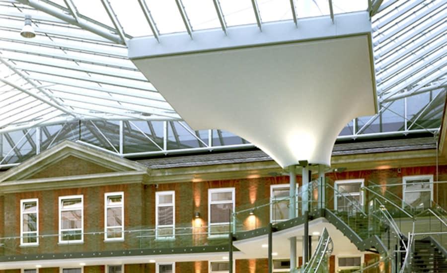 Interior fabric conic