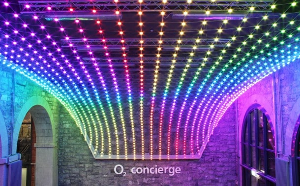 Architectural lighting feature