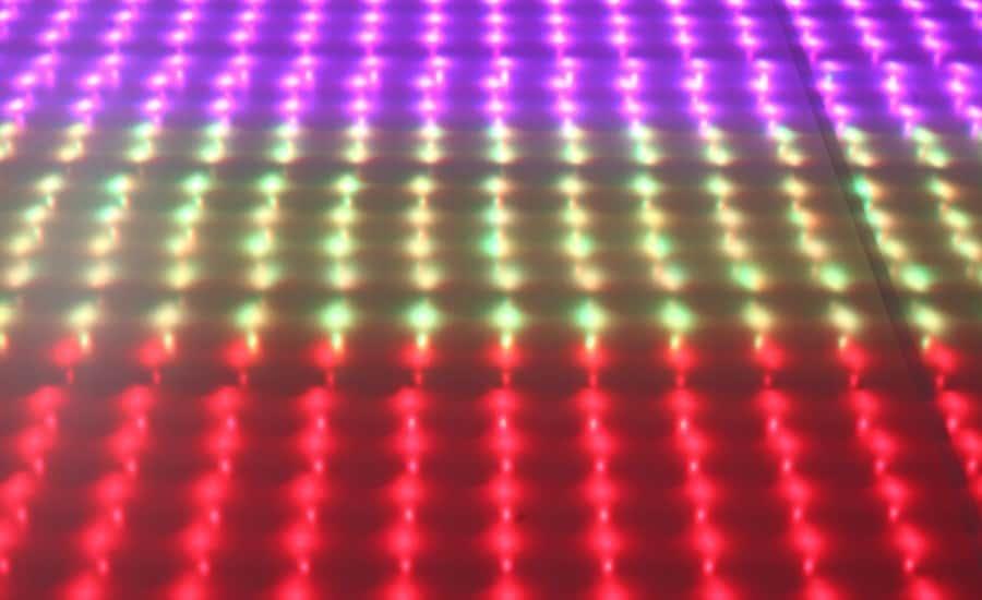 Pixel lightframe in action
