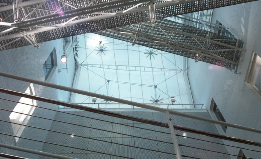 PVC membrane roof