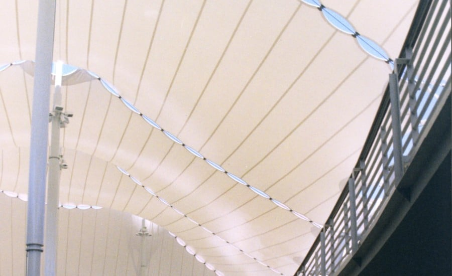 Food court canopy
