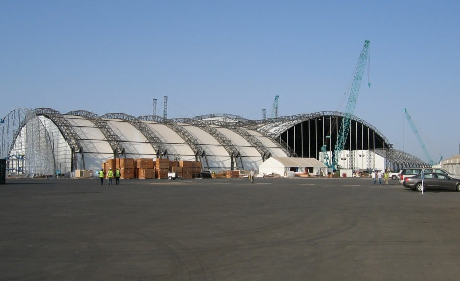KAUST Opening Ceremony Fabric Buildings