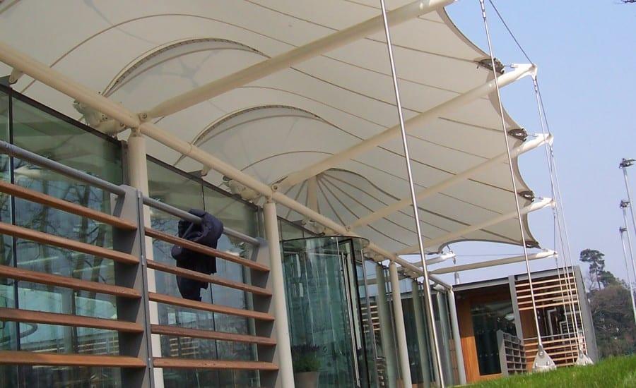 PTFE glass canopy