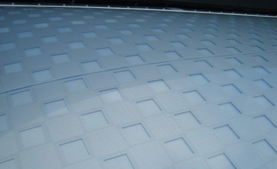 ETFE foil skylight