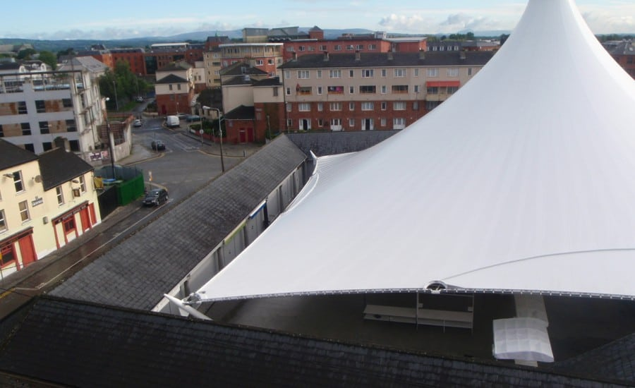 Large conic installation in Limerick