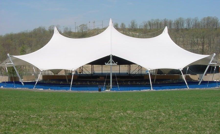 Portfolio U003e Montage Mountain Amphitheatre. PVC Vast Fabric Canopy; Vast  Festival Performance Structure ...