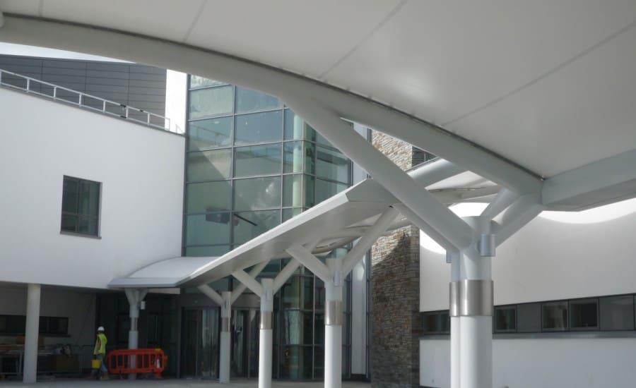 PVC shelter for hospital