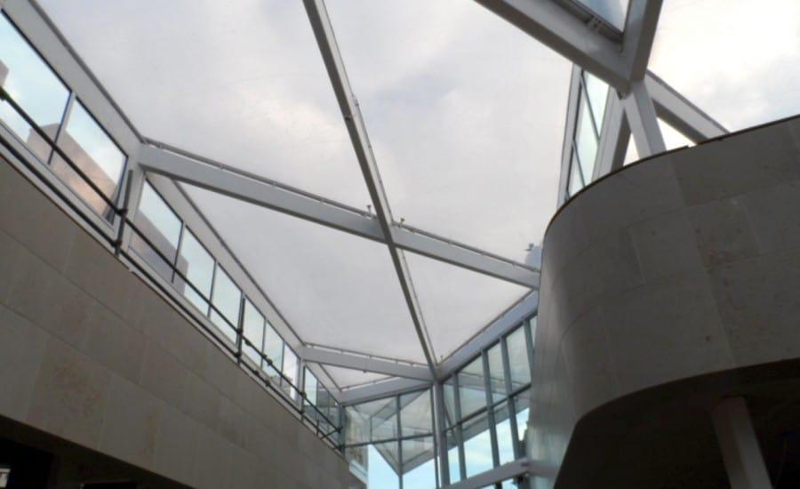 Etfe Roof Northampton Bus Interchange Architen Landrell