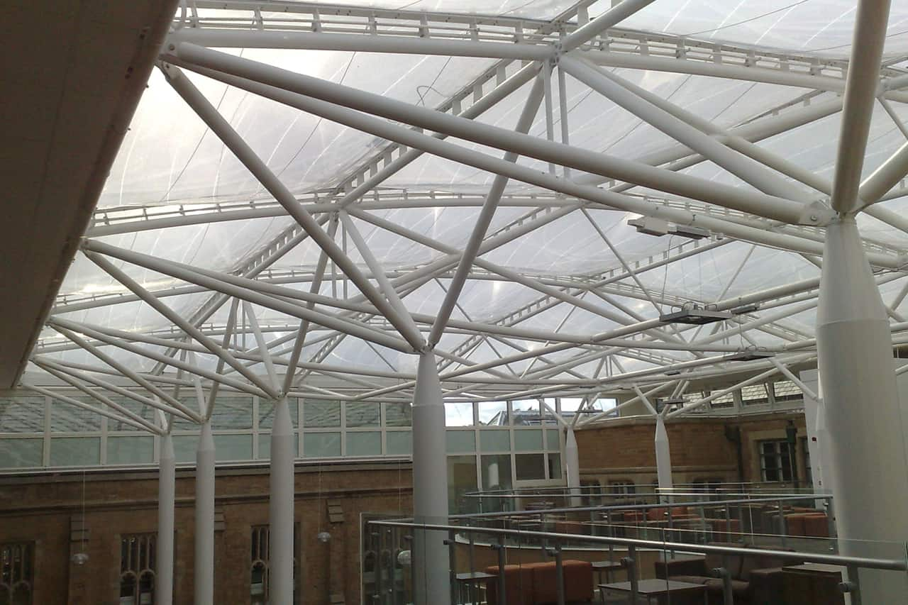 Nottingham High School For Boys Etfe Roof Architen Landrell