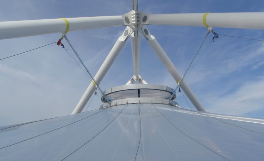 ETFE ventilation