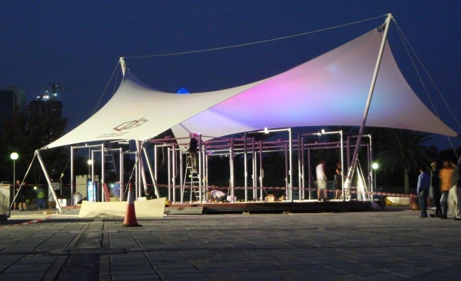 ... Exhibition canopy ... & Qatar Gas Exhibition Canopy - Architen Landrell