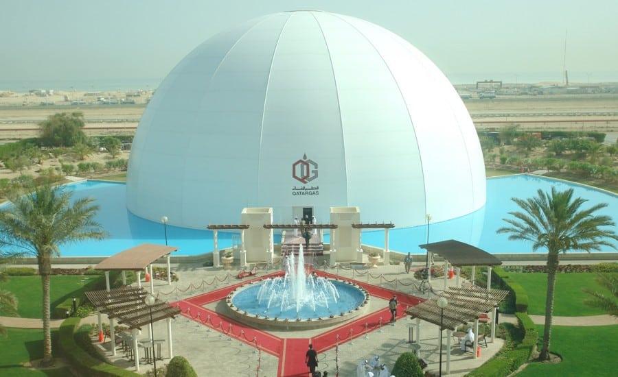 Large PVC exhibition dome