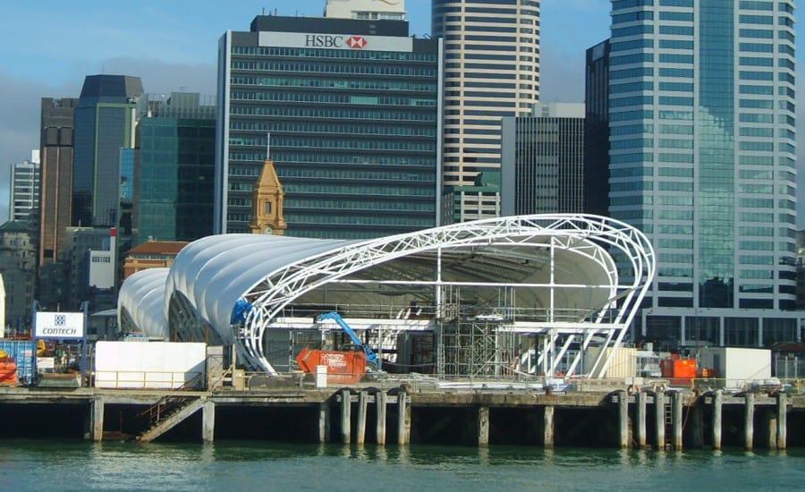 ETFE fabric hospitality venue