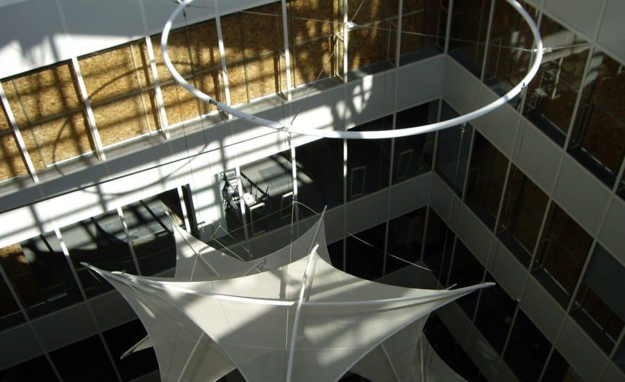 Interior fabric hypars