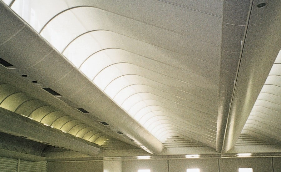 Easily demountable roof panels
