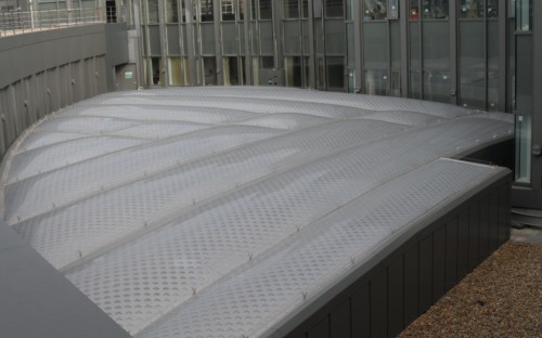 ETFE roof for hospital