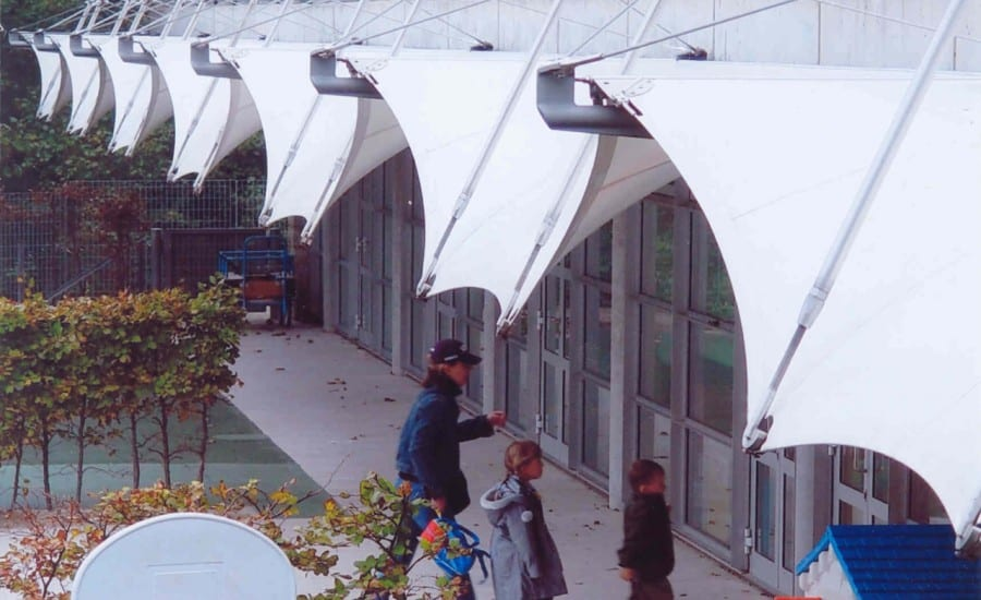 Series of PVC coated polyester sails