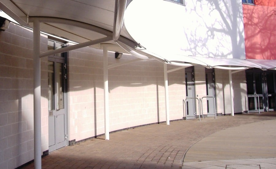 Sun shading for schools