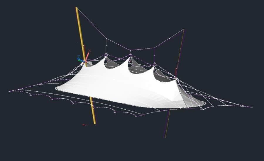Tensile fabric engineering