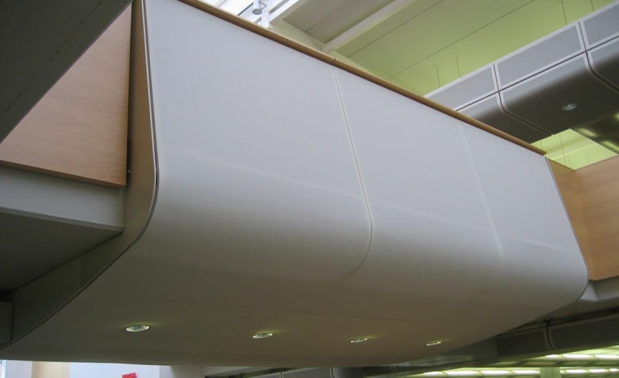 Bespoke fabric panel system